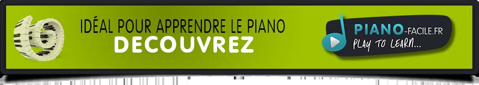 Découvrez les cours de Piano avec www.piano-facile.fr !